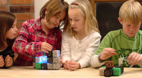 Cubelets: Modular robot construction kit - ExtremeTech | Robots and Robotics | Scoop.it