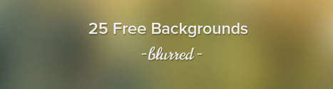 25 Free High Resolution Blurred Backgrounds | DISEÑO Y RECURSOS WEB | Scoop.it