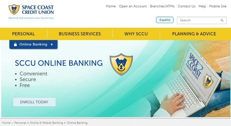 Sccu Space Coast Credit Union Online Banking