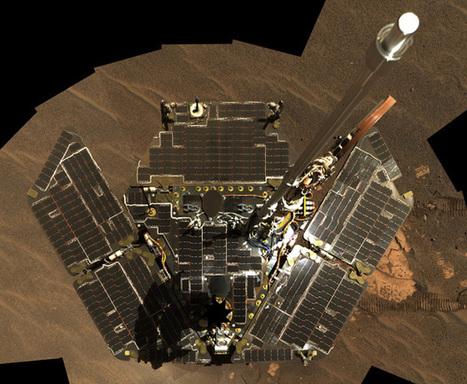 Opportunity Rover Begins Tenth (!) Year On Mars - IEEE Spectrum | Bloomfield Hills Schools | Scoop.it