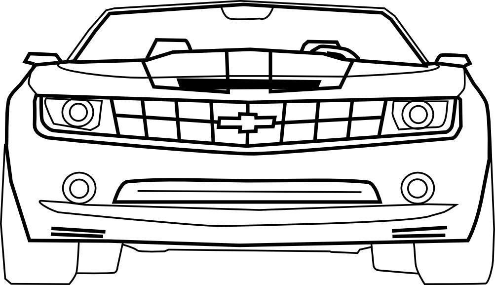 Dessiner une Chevrolet Camaro   dessin   Scoop...