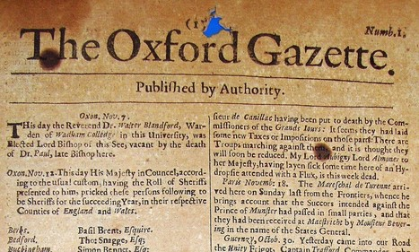 World's first English newspaper expected to fetch £15,000 when auctioned 350 years after it was published | British Genealogy | Scoop.it