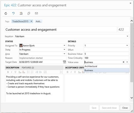 Scaled Agile Framework: Visual Studio Online process template updates - Microsoft Application Lifecycle Management - Site Home - MSDN Blogs | Visual Studio ALM | Scoop.it