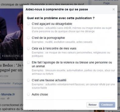 «C'est une fausse actualité»: Facebook veut tuer les «hoax» - Rue89 | internet | 2.0 | nouvelles technologies | Scoop.it