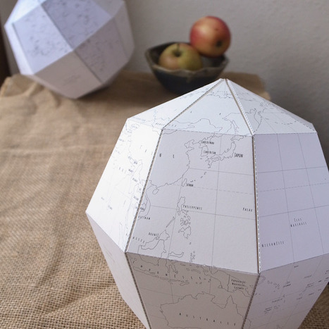 Le Paper Globe   Geography Education   Scoop.it