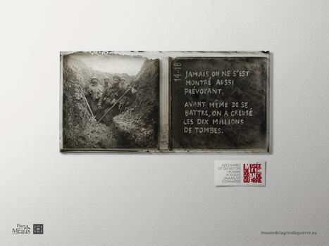 Une campagne de communication marquante pour le 1er anniversaire du musée de la Grande Guerre | Rhit Genealogie | Scoop.it