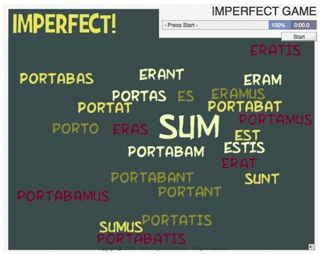 IMPERFECT GAME   Latin.resources.useful   Scoop.it
