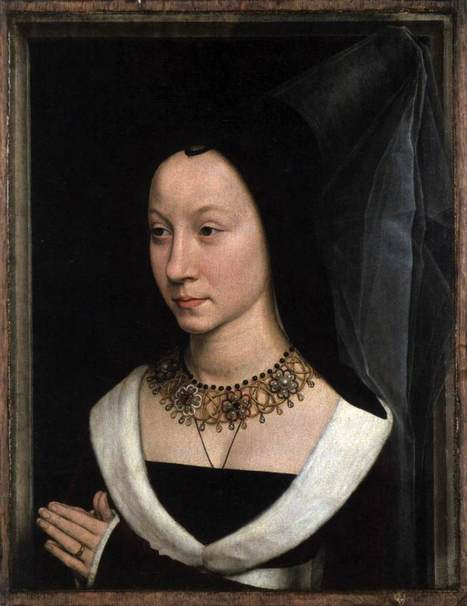 Hans Memling, Portrait ofMaria Maddalena... | Affinities | Scoop.it