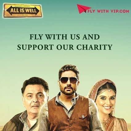 Fly with VIP Offers Exclusive Rendezvous With the Starcast of ALL IS WELL | Market News Release | Scoop.it