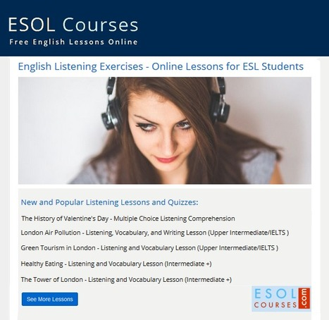 Free English Listening Lessons | English Listening Lessons | Scoop.it