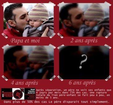 Divorce / Séparation : 1 enfant sur 3 ne voit plus jamais son père ! (INSEE, INED)   JUSTICE : Droits des Enfants   Scoop.it