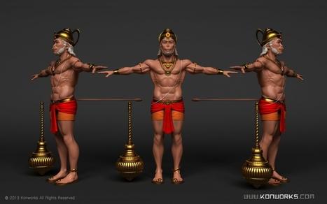 hanuman 3d model hanuman scoop it
