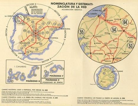 La evolución del mapa de carreteras de España: de los romanos a la actualidad | Geografía Infinita | GEOGRAFIA SOCIAL | Scoop.it