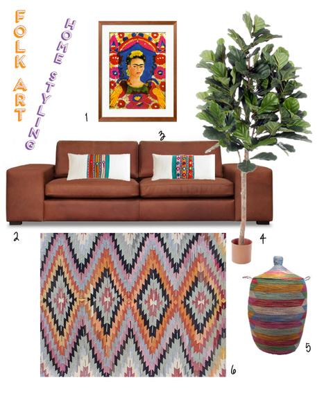 Happy Interior Blog: Interior Styling: Folk Art + Giveaway | Interior Design & Decoration | Scoop.it