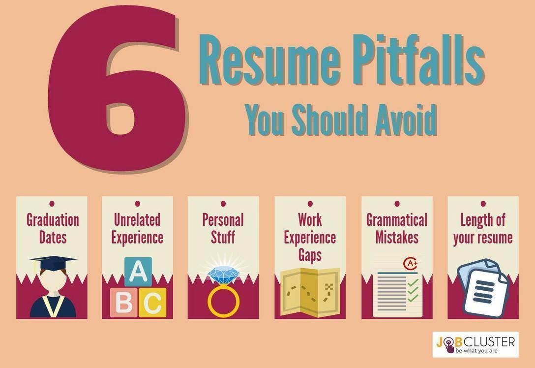 6 common resume pitfalls that you should never