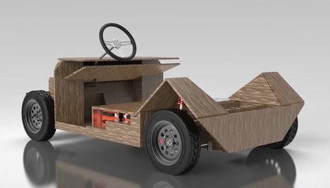 Noah, la voiture imprimée en 3D entièrement, qui peut être retravaillée  Ressources pour le College of Technology à Scoop.it