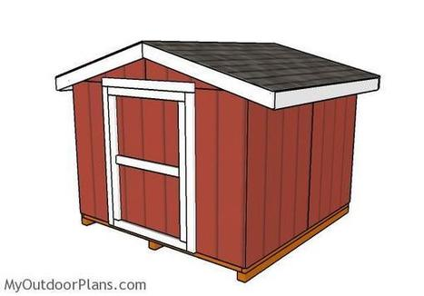 8x8 Short Shed Plans | MyOutdoorPlans | Free Woodworking Plans and Projects, DIY Shed, Wooden Playhouse, Pergola, Bbq | Garden Plans | Scoop.it