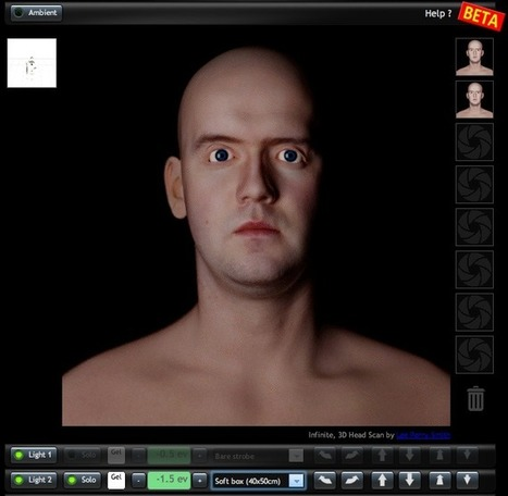 Virtual Lighting Studio: try your photographic setups online | Breaking Gear | Gear and gadgets | Scoop.it