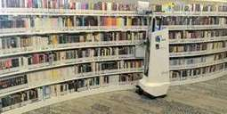 Automated robot that scans library shelves using laser mapping and radio tags can ensure no book is misplaced again | All Things Bookish: All about books, all the time | Scoop.it