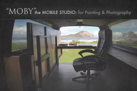 """""""Moby"""" the Mobile Studio: for Painting and Photography 