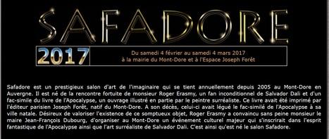 SAFADORE-Salon d'art de l'imaginaire-Mont-Dore-   Historic Thermal Cities Villes Thermales Historiques   Scoop.it