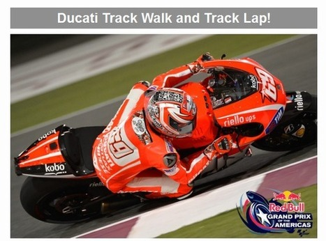Austin GP – More special perks for Ducati owners! | Ducati.net | Ductalk Ducati News | Scoop.it