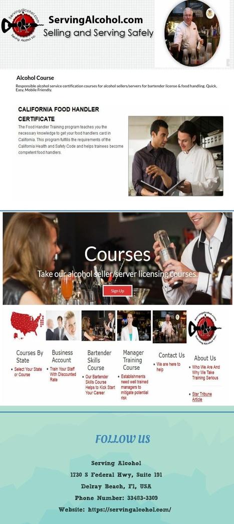 Alcohol Course Alcohol Course Scoop