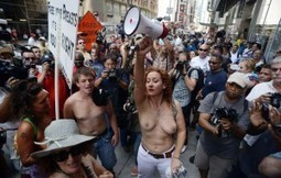 Women topless in New York | Sexy News | Sexy news | Scoop.it