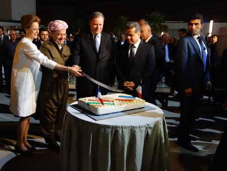 L'amitié franco-kurde plébiscitée par les lecteurs du Phénix kurde à travers Massoud Barzani | Béatrice D. | Scoop.it