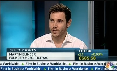 CNBC | Interview of Tictrac's CEO Martin Blinder | Tictrac Press Articles & Awards | Scoop.it