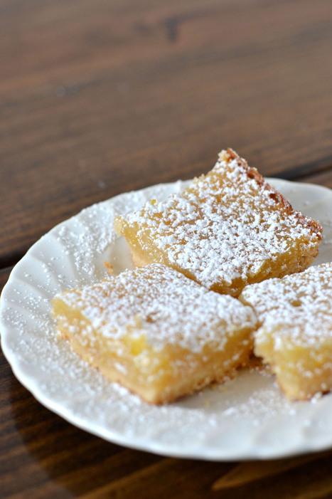 Vegan Meyer Lemon Bars | Just Chocolate!!! | Scoop.it