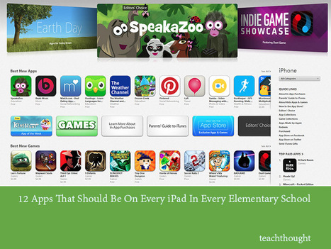 12 Apps That Should Be On Elementary School iPad | Technology, education, and community engagement | Scoop.it