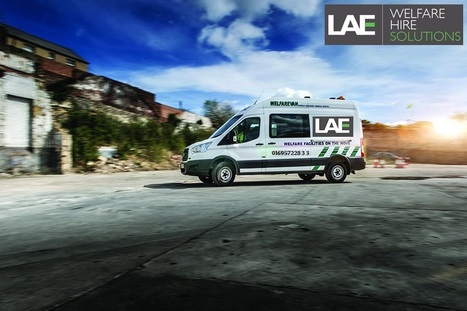 2ae414ab2f Welfare Vans Hire Solutions and Towable Welfare Units Services – LAE