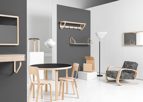 Artek revives Alvar Aalto products for latest furniture collection | Sisu Bento Box | Scoop.it