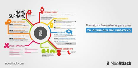 Formatos y herramientas para tu Currículum Creativo | El colador | Scoop.it