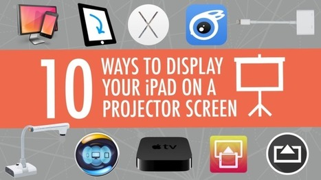 10 Ways to Show Your iPad on a Projector Screen | ed tech.computer class.writing ctr.ICT skills | Scoop.it