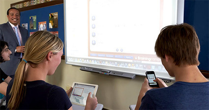 notebook' in Android and iPad apps for language teachers