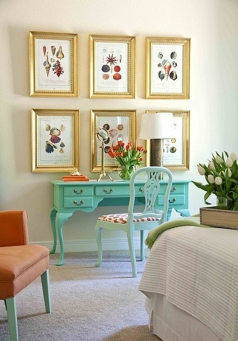 Writing Desk Designs to Individualize Your Working Space | Designing Interiors | Scoop.it
