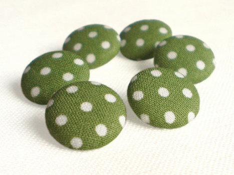 Fabric Buttons | Chummaa...therinjuppome! | Scoop.it