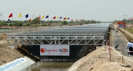 A solar canal rises in India | Renewable energy sources | Scoop.it