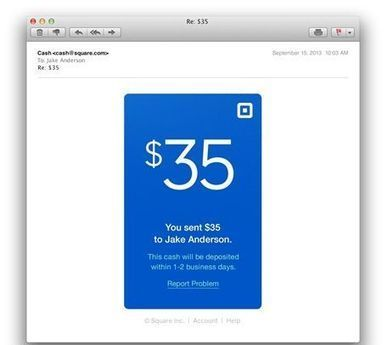 Square launches e-mail P2P payments service | Payments 2.0 | Scoop.it