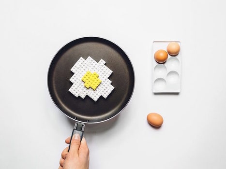 Michal Kulesza Captures Daily LEGO Meals | @FoodMeditations Time | Scoop.it