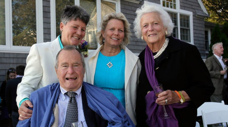 George H.W. Bush Serves As Witness In Same-Sex Marriage Ceremony | enjoy yourself | Scoop.it