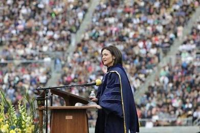 Sheryl Sandberg graduation speech: It's the hard days that determine who you are - The Boston Globe | The Study of HAPPINESS | Scoop.it