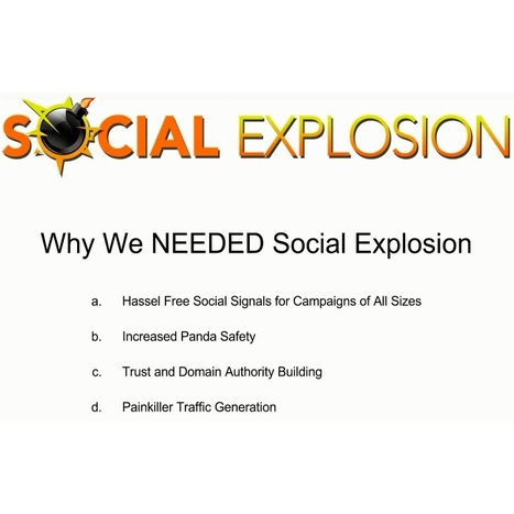 WP Social Explosion Webinar - Plugin Open To General Public - One Empire. Yours.   Content Curation Myths   Scoop.it