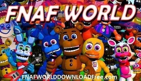 FNaF World Update 3 Downlaod PC Version full |