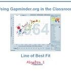 Gapminder: Line of Best Fit - Jeanette Stein | Understandingcommoncorestatestandards | Scoop.it