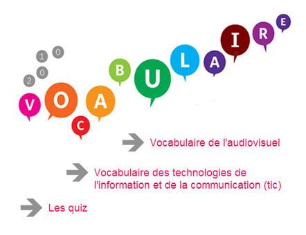 Vocabulaire des TIC et de l'audiovisuel | Moisson sur la toile: sélection à partager! | Scoop.it