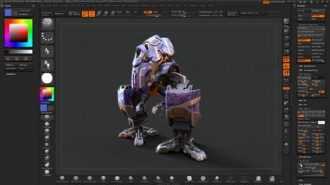 ZBrush 4R2 disponible !!   PolySculpt   Infographie 3D   Scoop.it