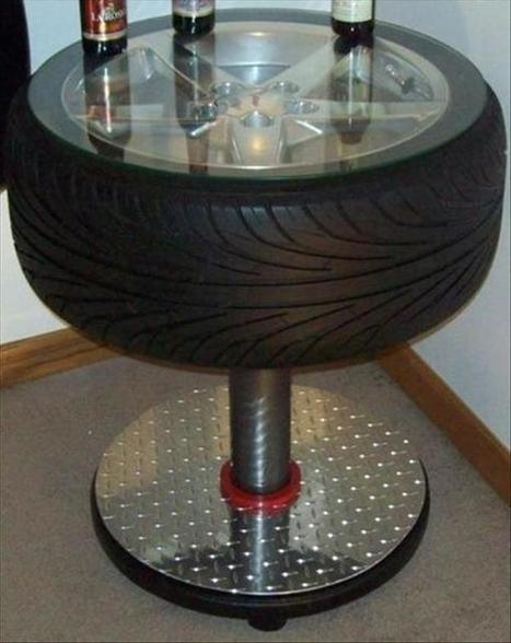 9 DIY Reused Tire Projects | Upcycled Objects | Scoop.it